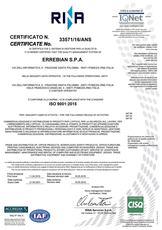 Certificato ISO 9001 (3)